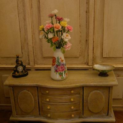 Bouquet miniature roses limoges