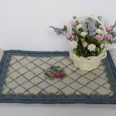 Carpet and flowers