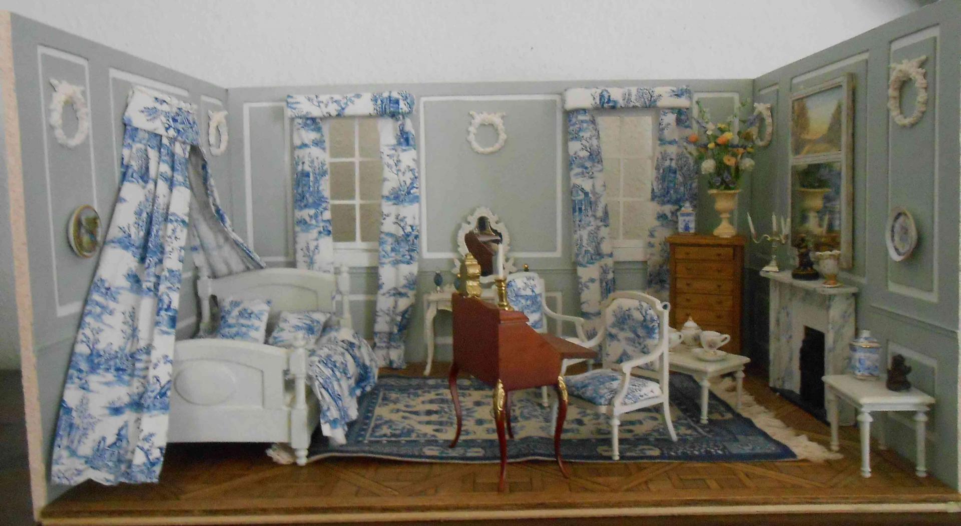 Miniature chambre1 toile de