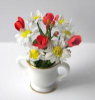 Tulipes et marguerites