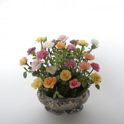 Centrede table roses