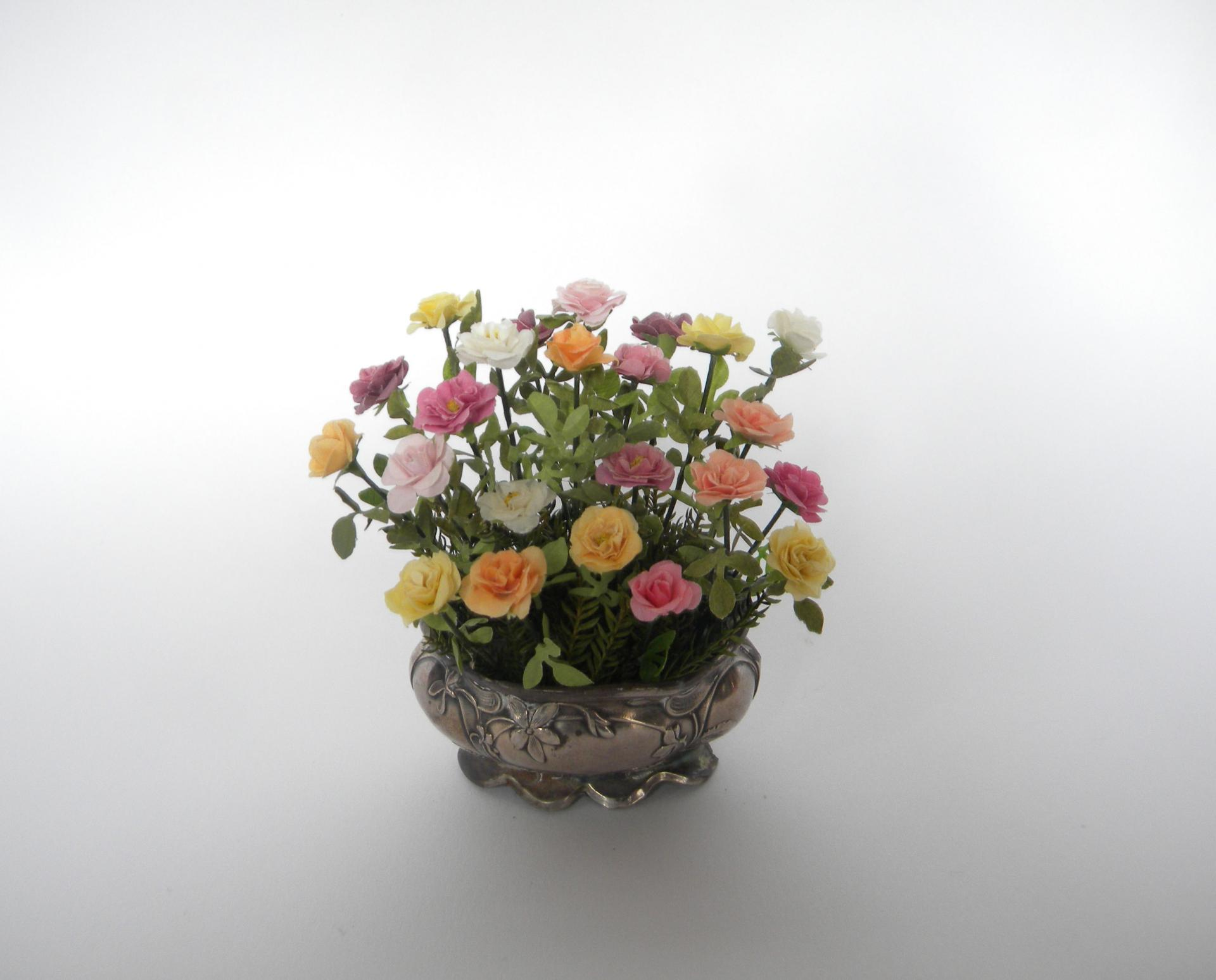 Centrede table roses1