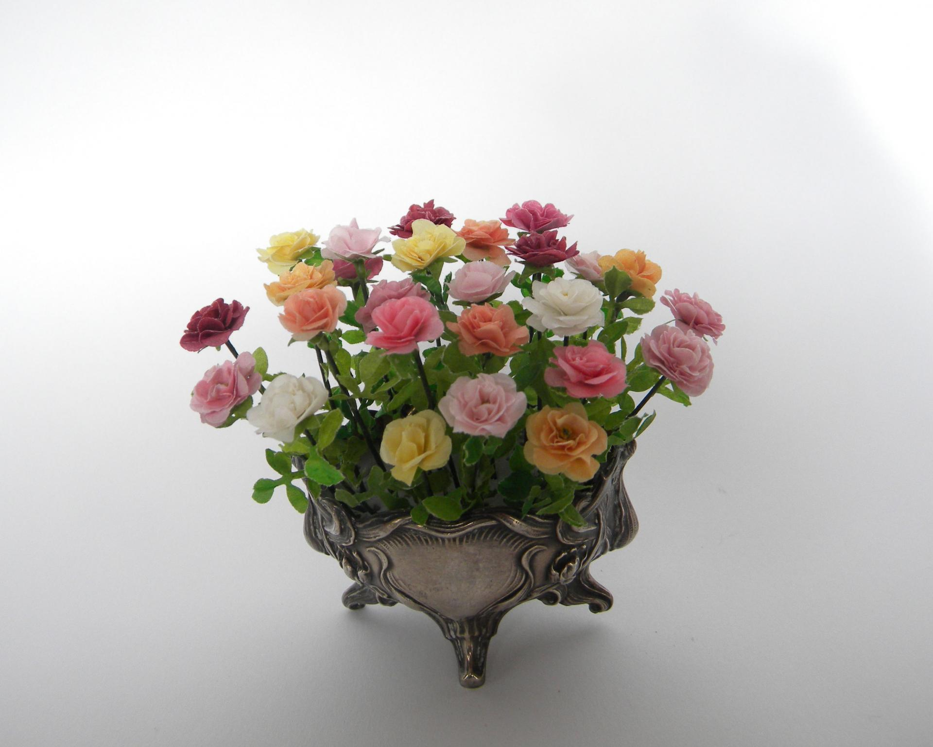 Coupe roses